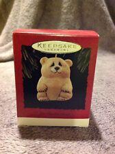 Hallmark 1995 Lou Rankin Bear Qx4069 Keepsake Ornament Christmas Nib