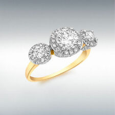 Cluster Stone Fashion Rings