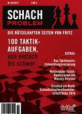 ChessBase Schach Problem - Die rätselhaften Seiten von Fritz - Heft 02 / 2017