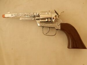 { Vintage Pony Boy  Cowboy Western Gun Pistol With Brown Handles