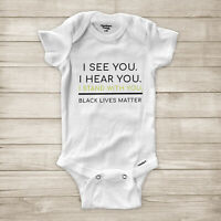 I Stand with You Solidarity Black Lives Matter Equal Rights Baby Infant Bodysuit