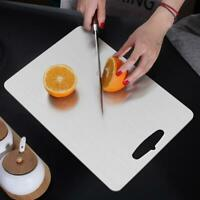 Kitchen stainless steel metal Cutting Board Chopping Block  Chopping board