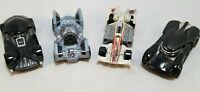 Hot Wheels Star Wars Lot Of 4 Cars Darth Vader Kylo Ren Xwing Tie Fighter  LOOSE