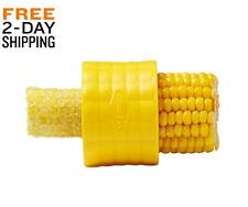 Compact Corn Stripper Cob Peeler Kernel Thresher Remover Kitchen Tool Fresh Seed