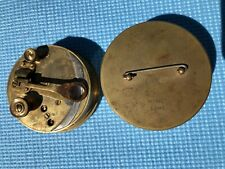 Antique Swift London Brass Pocket Nautical Sextant Vintage Maritime Tool