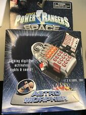 Power Rangers In Space Astro Morpher Electronics Tested All Work W/ Wrist Strap