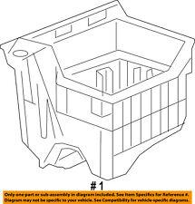 Dodge CHRYSLER OEM Dart Air Cleaner Box-Bottom Lower Housing Body 68102372AB