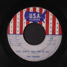 TEMPOS : Thief In The Night / Why Don't You Write Me 45 (dj, lbl wear)