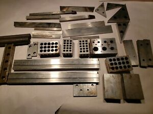 Machinist Parallels Riser Blocks Fixture Set Up Blocks Mill Steel Stock Parallel