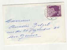 Suisse Helvetia 1 timbre sur lettre 1968 / L480