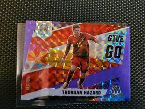 2021 Mosaic Soccer Thorgan Hazard Give and Go Insert No. 2 Prizm 33/70 Belgium