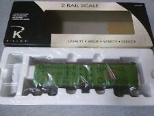 K-Line Oppenheimer 2-Rail Wood-Sided Reefer #KS742-8013 ~ TS