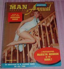 1950s #5 MARILYN MONROE NUDE Modern MAN Magazine's Annual GUNS CARS Naked WOMEN
