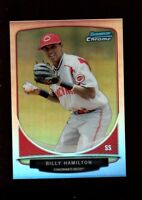 BILLY HAMILTON REDS MINT REFRACTOR ROOKIE CARD RC SP 2013 BOWMAN CHROME MINI GEM