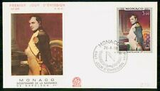 Mayfairstamps Monaco FDC 1969 Napoleon First Day Cover wwf_08709