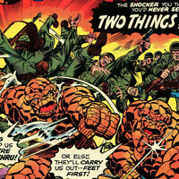 Fantastic Four # 162 VF Two Things Are Deadier Than One    Marvel  CBX1B