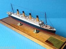 OLYMPIC ocean liner MODEL cruise ship WHITE STAR LINE, scale 1:900, by Scherbak