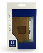 Exspect Real Buffalo Leather protectora dura cubierta trasera para Kindle Touch