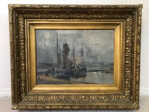 🔥 Antique Important English Impressionist Oil Painting - Cecil Gordon Lawson