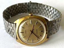 Vintage Timex Electric 47619 26080 Water Resistant Men's Wrist Watch Runs