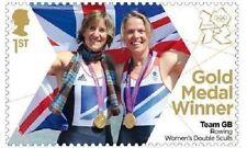 GB Olympic Gold Medal Grainger Watkins Rowing single MNH 2012