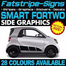 SMART Auto Fortwo grafica Adesivi Strisce Decalcomanie Coupe Convertibile Brabus 1.0