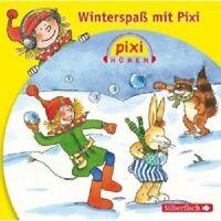 """PIXI HÖREN """"WINTERSPAß MIT PIXI"""" CD NEU HÖRBUCH"""