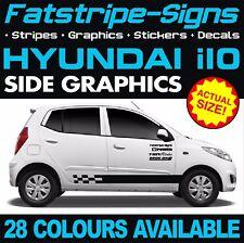 HYUNDAI i10 GRAPHICS STRIPES DECALS STICKERS CAR VINYL 1.0 1.1 1.2 KAPPA GRAND