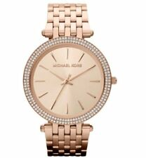 New In Box Michael Kors MK3192 Women's Darci Rose Gold Stainless Steel Watch