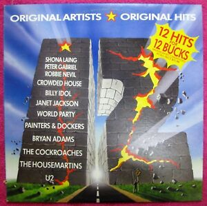 12 Hits for !2 Bucks- Aussie LP pressing compilation- RML51005- EMI Records 1987
