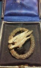 Médaille brevet parra all avec sa boite insigne ww2