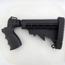 Tactical Shotgun Adjustable Stock Pistol Grip W/ Recoil Pad For Mossberg 500