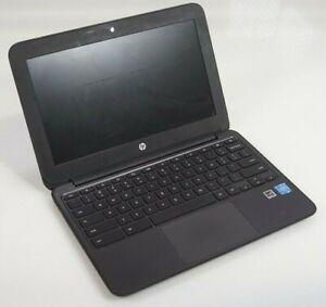 """HP Chromebook 11 G5 EE 11.6"""" Intel Celeron N3060 4GB 16GB SSD w/ Adapter"""