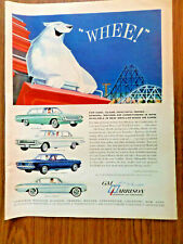 1961 GM Harrison Air Conditioning Ad Buick Special  Olds Corvair Pontiac Tempest