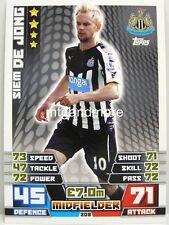 Match Attax 2014/15 Premier League - #208 Siem De Jong - Newcastle United