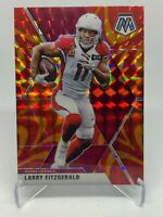 Larry Fitzgerald 2020 Panini Mosaic #9 Red Prizm SP ( Cardinals ) ,