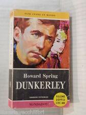 DUNKERLEY Howard Spring Mondadori I libri del pavone 1958 romanzo libro racconto