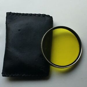 Series VI deep yellow #15 Drop In Filter with Pouch