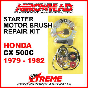 Arrowhead Honda CX500C CX 500C 1979-1982 Starter Motor Brush Repair SMU9106