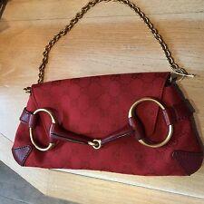 Gucci Clutch Bag De Noche Rojo