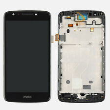 Black Fr Motorola Moto E4 XT1765 XT1766 Touch Screen Digitizer+LCD Display Frame