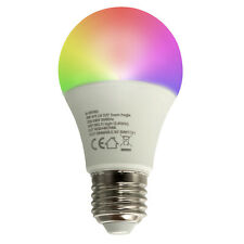 Lampadina LED SMART E27 RGB WiFi controllo vocale Google Home Amazon Alexa IFTTT