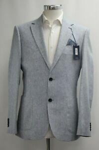 Men's T.M.LEWIN Slim Fit Charing Denim Blue Blazer Jacket  Ref 64151 / 7514