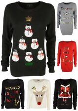 Reindeer Thin Knit Jumpers & Cardigans for Women