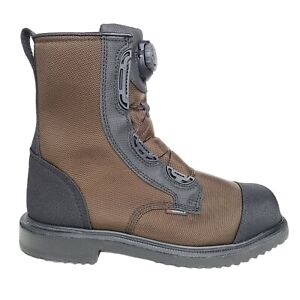 Red Wing Maxbond Men's 8-Inch BOA Safety Toe Boots Waterproof Brown Size 11.5EE
