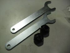 """Porter Cable 1/2""""  & 1/4""""  Collets and Wrenches For 690 & 890 Series Routers"""