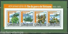GUINEA BISSAU 2015 40th ANNIVERSARY OF THE END OF THE VIETNAM WAR SHEET  MINT NH
