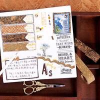 DIY und Papier Kork Band Rollenset Hand Tagebuch Tagebuch dekorative AufkleberYE