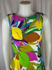 Darina Honolulu dress multicolor full length 60s 70s retro hawaiian pencil cute