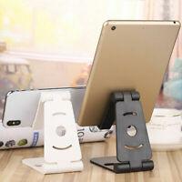 Universal Adjustable Mobile Phone Pad Holder Stand Desk Swivel Foldable Portable